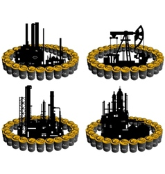 Petroleum business-6 vector image vector image