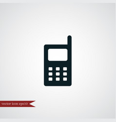 phone icon simple vector image