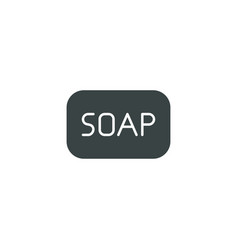 Soap icon simple vector