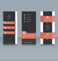brochure design template brochure design template vector image vector image