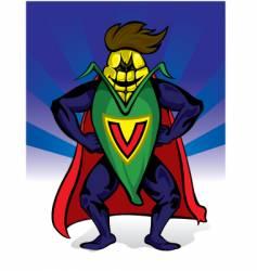 supercorn vector image vector image