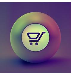 Shopping icon vector image vector image
