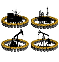 Petroleum business-1 vector image vector image