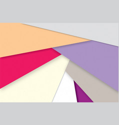 abstract geometric background stylish multicolor vector image