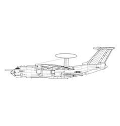 Berijew a-50 mainstay vector
