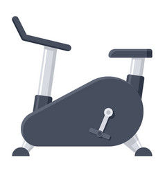 exercise bike icon vector image