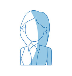 female political candidate election character vector image