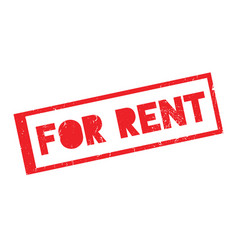 For rent rubber stamp vector