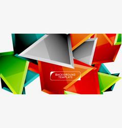 geometric minimal design background vector image