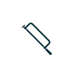 hacksaw icon simple vector image