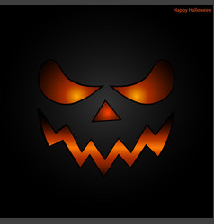 Halloween mask face background vector