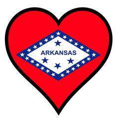 Love arkansas vector