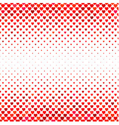 Red heart pattern background - love concept design vector