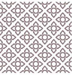 Seamless pattern thailand traditional style vector