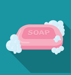 Soap flat icon vector
