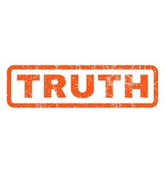 Truth Rubber Stamp vector