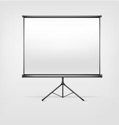 white billboard vector image
