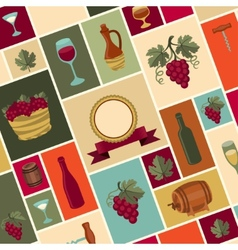 for wine wineries and restaurants vector image