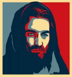 jesus illustration vector image vector image