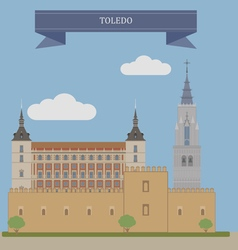 Toledo vector image vector image