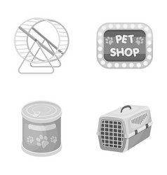 Container for carrying animals and other vector