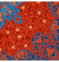 Floral arabesque background vector