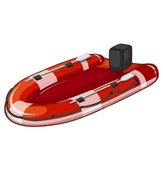 Lifeboat vector