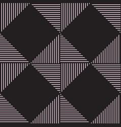 line rhombus seamless pattern vector image