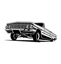 low rider vector image