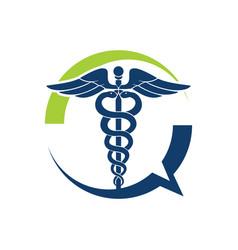 Medical talk vector
