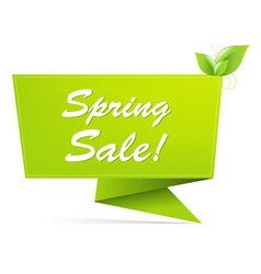 sale spring banner vector image