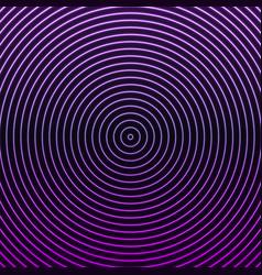 hypnosis glowing neon circles vector image