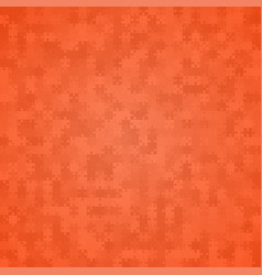 900 orange background puzzle jigsaw banner vector image