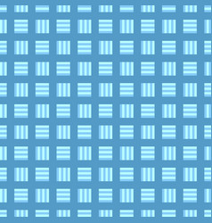 Abstract repeating pattern - square background vector
