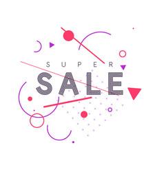 best banner sale original poster discount vector image