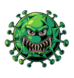 evil virus vector image