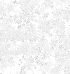 Frost Background with Snowflakes vector