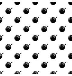 hanami dango icon simple black style vector image