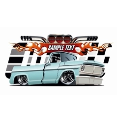 Cartoon Lowrider vector image