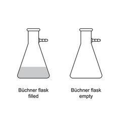 elements laboratory equipment vector image