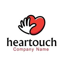 Heartouch Design vector image