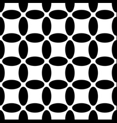 Monochrome repeating geometrical pattern - vector