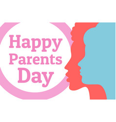 parents day happy same sex homosexual family vector image