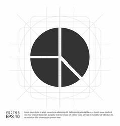 pie chart vector image