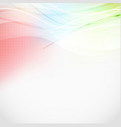 Soft light lines abstract colorful background vector