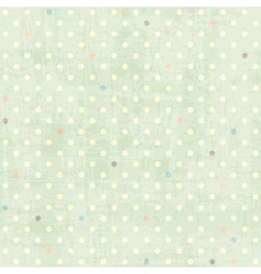 seamless dots pattern vector image