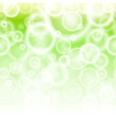 Spring bokeh abstract background vector image