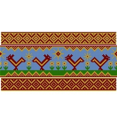Russian pattern Set vector image vector image