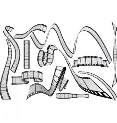 film vector image vector image