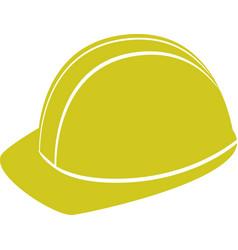builder man hard hat icon color vector image